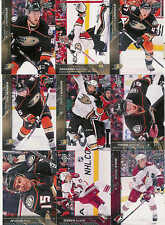 2015-16 UPPER DECK SERIES 1 HOCKEY COMPLETE BASE SET 1-200