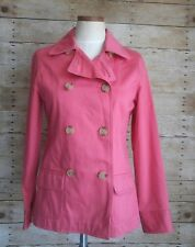 Old Navy Womens Pink Coral Peacoat Jacket  Size S