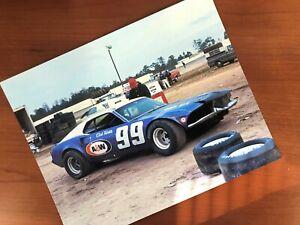 8 x 10 Dick Trickle Mustang 1973