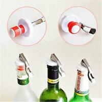 Plastic Stainless Steel Vacuum Sealed Red Wine Storage Bottle Stopper Cap Q