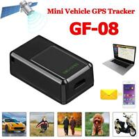 GF08 Mini SMS GPS Tracker GSM GPRS Real Time Tracking Device fr Auto Pet Kid Car