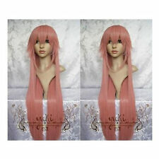 Hot Sale Clamp-Hanato Kobato Long Straigh Dark Pink Cosplay Women Full Hair Wig