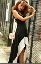 Korean style Sleeveless Party fishtail midi dress