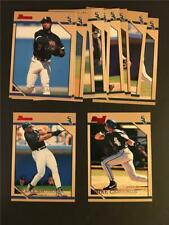 1996 Bowman Chicago White Sox Team Set 12 Cards