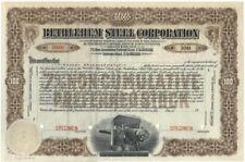 Bethlehem Steel Corporation Stock Certificate Specimen