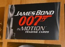 JAMES BOND 007 IN MOTION TRADING CARDS DISTRIBUTION PROMO CARD 2008 NM