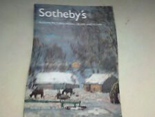 SOTHEBY'S RUSSIAN PICTURES - WORKS OF ART AND ICONS   2006