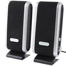USB SPEAKERS LAPTOP PORTABLE MULTIMEDIA SOUND MUSIC PC DESKTOP TV SPEAKERS MAC