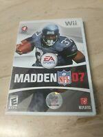Madden NFL 07 Nintendo Wii EA Sports