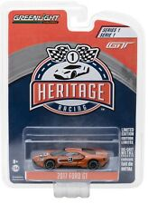 1:64 GreenLight *FORD GT RACING HERITAGE* 2017 Ford GT *1967 TRIBUTE ORANGE #3*