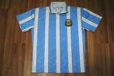 ARGENTINA HOME FOOTBALL SHIRT 1996-1997 JERSEY VINTAGE ADIDAS RARE SIZE SMALL