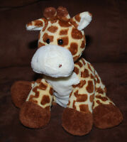 63c5bbc1539 TY Pluffies Tip Top Giraffe Beanie Plush Toy Baby Lovey Stuffed Animal 10