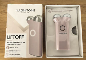 New Magnitone LiftOff Micro Current Facial Toning & Lifting Device with Gel