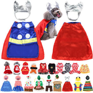 Mini Pet Dogs Duck Halloween Christmas Gift Fancy Dress Costume Outfit Clothes