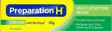 Canadian PREPARATION H CREAM Bio Dyne Multi Symptom Relief 25g Fresh Exp 2022+++
