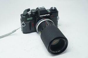 Olympus OM40 Program DX SLR Film Camera & 75-150mm zoom lens