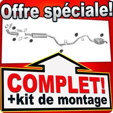 Ligne pot d'échappement FORD MONDEO MK3 2.0 Break +Tuyau Silencieux B87