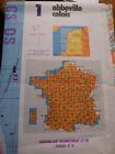 Carte IGN serie M663 : 43 lyon vichy Edition N° 3 1992 *