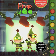 Disney's Prep & Landing Hallmark SOUND gift book ~ Christmas~NEW
