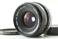 Excellent++++ Canon FD S.C. SC 28mm F3.5 MF Wide Angle Lens From Japan #87