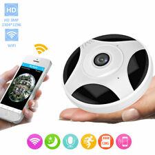 960P 360° Panoramic Wireless Webcam Wifi Surveillance Camera Home Security