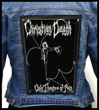 CHRISTIAN DEATH - Only Theatre of Pain --- Giant Backpatch Back Patch