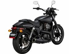Vance and Hines Competition Series Black Slip On Muffler Harley Street 500 750