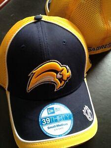 NHL BUFFALO SABRES 39THIRTY HAT SMALL/MEDIUM SIZE CAP NEW