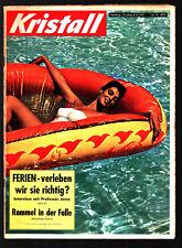 Kristall Nr. 16 1957 Käthe Gold, Juliette Greco, Hibari Misora