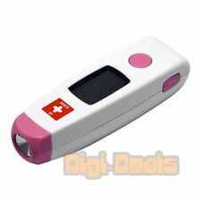 Infrared Forehead THERMOMETER with Accurate Fast LCD Display Safe for Babies