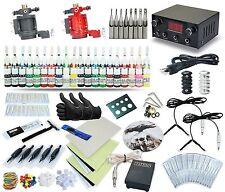 2 Rotary Machines 40 Colors Dual Power Supply Tattoo kit tk-57