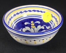 Pre-Owned Cama Deruta Antico Italian Hand Painted Dipping Sauce Bowl 3""