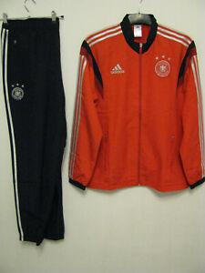 DFB-Präsentationsanzug, rot/schwarz, Gr. L, WM 2014