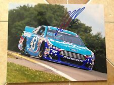 Aric Almirola Signed 8x10 Photo NASCAR COA