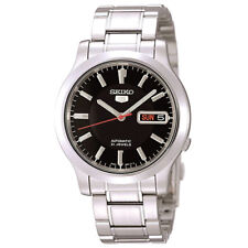 Seiko 5 SNK795 Automatic 21 Jewels Black Dial Stainless Steel Men Watch SNK795K1