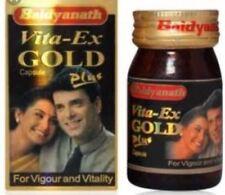 Vita-Ex GOLD capsules plus Vigour Vitality Increase Sex Power,Stamina Libido 20