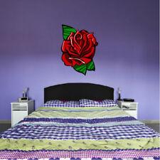 Pegatinas y plantillas de pared sin marca color principal rojo para el dormitorio