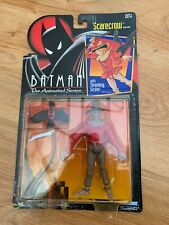 Vintage Batman The Animated Series Scarecrow Figure by Kenner 1993 Mint on Card