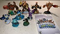 Skylanders Lot - 9 Characters/Figures & Wii Swap Force Game! Imaginators
