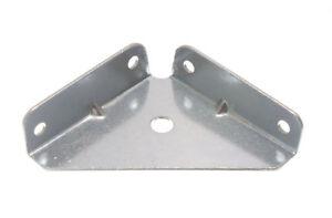 QTY of 10 -  50MM SQUARE CORNER BRACE ANGLE BRACKET ZP M1233