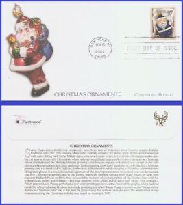 USA5 #3885a U/A FLEETWOOD FDC   Blue Santa Ornament