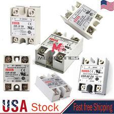 Fotek Solid State Relay Module Dc Input 25a40a60a Ssr 25da40da60da Control