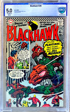BLACKHAWK #218  CBCS 5.0 condition a 1966 DC Silver Age comic