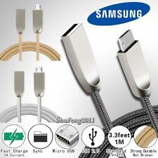 For Samsung Galaxy J 1/2/3/5/7/8 Micro USB Fast Charging Data Sync Charger Cable