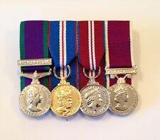 GSM N Ireland, Golden & Diamond Jubilee, LSGC, Court Mounted Miniature Medals