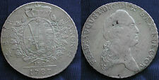 MONETA COIN ANTICHI STATI GERMANIA SACHSEN FREDERICK AUGUST THALER 1787 ARGENTO