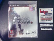 DEAD SPACE 3 LIMITED EDITION PS3 PLAYSTATION 3 PAL NUOVO SIGILLATO