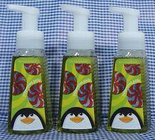3 Bath & Body Works PEPPERMINT PATTY ANTI-BACTERIAL Gentle Foaming Hand Soap