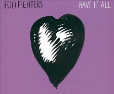 Audio CD: Have It All, Foo Fighters. Very Good Cond. Import, Single. 82876563702
