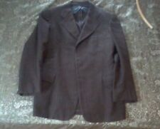 "1940s ""Clothcraft"" Brown Wool Jacket/Blazer, 36-38 Reg, Ww2/Swing Era!"